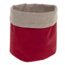 mand multi gebruik rood linnen, rood