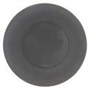 plato plano gris perla 27cm, gris oscuro