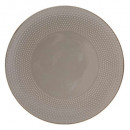 assiette plate perle taupe 27cm, taupe