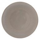 Borden platte kraal taupe 27cm, taupe