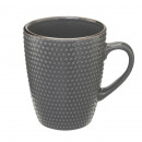 taza perla gris 32cl, gris oscuro