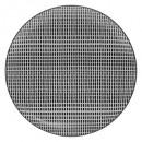 plate bohemia square 27cm, black & white
