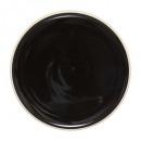 plato Departamento Sofia negro 27cm, negro