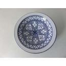 plate hollow sohan blue 22cm
