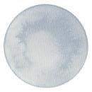 Borden platte reliëfpoort 27 cm, blauw