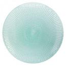 plato puntos planos verdes 28cm