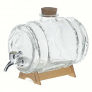 dispenser + coffee grounds 1.5l, transparent
