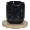 box 4 cups geom n 13cl, black
