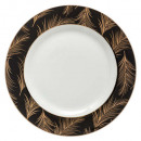 plate plate lady jungle 27cm, gold
