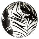 Borden holle palm zwart 20cm