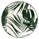 plato verde palmera hueca 20cm