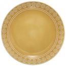 Borden plat idylle f geel 27cm, geel
