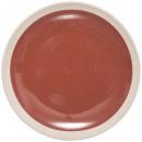 plato plato indo azafrán 26cm, rojo
