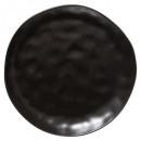 plato tierra plana o negro 26cm, negro