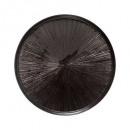 plato postre astra negro 21cm