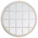 miroir rd fenetre d120, blanc