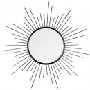 spiegel metaal zon nr d60, zwart
