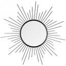 espejo metal sun nr d60, negro