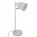 metal desk lamp white h36, white
