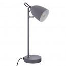gray metal lamp tory h36, gray