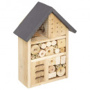 insect house 19x9xh26, 4- times assorted , beige