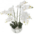 wholesale Home & Living: orchidee pot cim marble h65, white