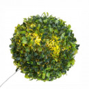 wholesale Garden & DIY store: boxwood ball 10 led d18, green