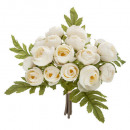 bouquet 18 mini camelia h30, white