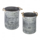 wholesale Small Parts & Accessories: bucket metal collect x2, gray