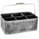 porte plante metal collect 23x26, gris