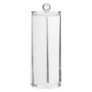 wholesale Bath Furniture & Accessories: coton dispenser, transparent
