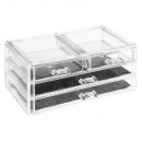 wholesale Jewelry & Watches: jewelry box 4 drawers l, transparent