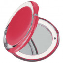 wholesale Make-up Accessoires: round pocket mirror, 3- times assorted , multicolo