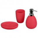 accesorios para el baño x 3 sol coquel, taupe