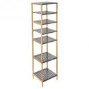 shelves 4 n + 2 bamboo + mdf g
