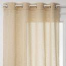 140x240 cortinas pálidas ocre, ocre