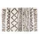 Berber Teppich gemustert 120x170, mehrfarbig