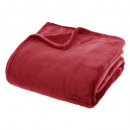 effen rode flanel plaid 180x230, rood