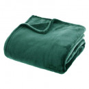 effen groen flanel plaid 180x230, groen