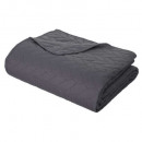 wholesale Home & Living: over bed braid240x260 + 2t gf, dark gray