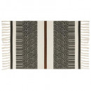 tapis coton etnik 60x90, 3-fois assorti, couleurs
