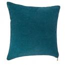 mayorista Cojines y mantas: Cremallera azul Cojín 40x40, azul