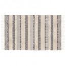 tapis cotton relief #2 90x150, multicolore