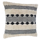Pillow coton b & w 40x40, 3- times assorted ,