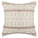 wholesale Cushions & Blankets: cover etnik neck tuf li 40x40, beige