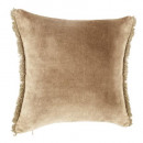 wholesale Cushions & Blankets: cover velvet neck li 40x40, beige