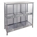 6 shelves renan, gray