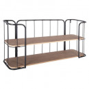 wall shelf jordi, brown