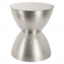 table appoint metal hanae ar, argent