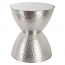 Metalltisch hanae ar, Silber